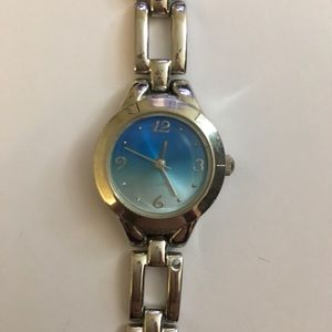 Accessories - Blue-faced watch